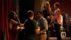 Rani Kapoor, Callum Rebecchi, Ajay Kapoor, Sonya Rebecchi, Susan Kennedy in Neighbours Episode 6661