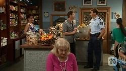 Vanessa Villante, Lucas Fitzgerald, Matt Turner in Neighbours Episode 6661