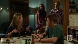 Sonya Mitchell, Rani Kapoor, Callum Jones, Toadie Rebecchi in Neighbours Episode 6661