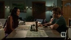 Rani Kapoor, Callum Rebecchi in Neighbours Episode 6661