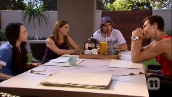 Imogen Willis, Terese Willis, Brad Willis, Josh Willis in Neighbours Episode 6662