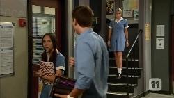 Imogen Willis, Josh Willis, Amber Turner in Neighbours Episode 6662