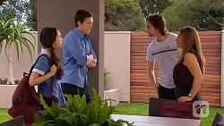 Imogen Willis, Josh Willis, Brad Willis, Terese Willis in Neighbours Episode 6663