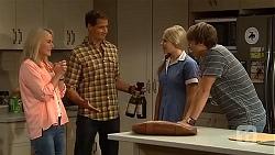 Lauren Turner, Matt Turner, Amber Turner, Mason Turner in Neighbours Episode 6663