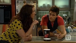 Kate Ramsay, Chris Pappas in Neighbours Episode 6663