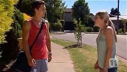 Josh Willis, Amber Turner in Neighbours Episode 6663
