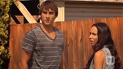 Mason Turner, Imogen Willis in Neighbours Episode 6663