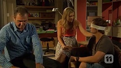 Karl Kennedy, Georgia Brooks, Kyle Canning in Neighbours Episode 6664