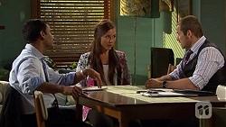 Ajay Kapoor, Caroline Perkins, Toadie Rebecchi in Neighbours Episode 6664