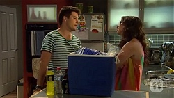 Chris Pappas, Kate Ramsay in Neighbours Episode 6664