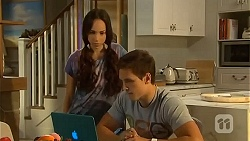 Imogen Willis, Josh Willis in Neighbours Episode 6665