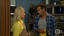 Lauren Turner, Barney Wellington in Neighbours Episode 6665