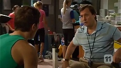 Josh Willis, Don Cotter in Neighbours Episode 6665