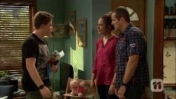 Callum Jones, Sonya Mitchell, Toadie Rebecchi in Neighbours Episode 6666