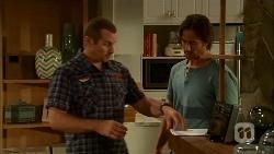 Toadie Rebecchi, Brad Willis in Neighbours Episode 6666