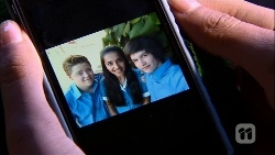 Callum Jones, Rani Kapoor, Bailey Turner in Neighbours Episode 6666
