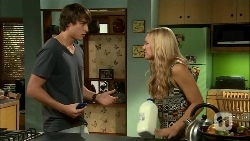 Mason Turner, Georgia Brooks in Neighbours Episode 6667