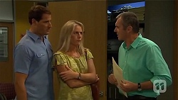 Matt Turner, Lauren Turner, Karl Kennedy in Neighbours Episode 6668