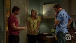 Brad Willis, Lauren Turner, Matt Turner in Neighbours Episode 6668
