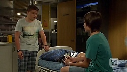 Callum Rebecchi, Bailey Turner in Neighbours Episode 6668
