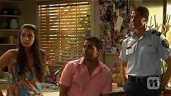 Rani Kapoor, Ajay Kapoor, Matt Turner in Neighbours Episode 6668
