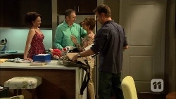Vanessa Villante, Karl Kennedy, Susan Kennedy, Lucas Fitzgerald in Neighbours Episode 6671