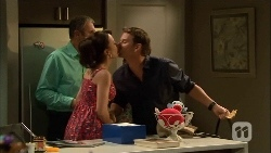 Karl Kennedy, Vanessa Villante, Lucas Fitzgerald in Neighbours Episode 6671