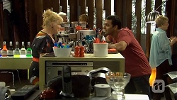 Sheila Canning, Ajay Kapoor in Neighbours Episode 6673