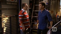 Thomas Spencer, Lucas Fitzgerald in Neighbours Episode 6673