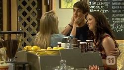 Lauren Turner, Mason Turner, Kate Ramsay in Neighbours Episode 6674
