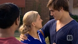 Ajay Kapoor, Georgia Brooks, Kyle Canning in Neighbours Episode 6674