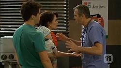Chris Pappas, Patrick Villante, Vanessa Villante, Karl Kennedy in Neighbours Episode 6674