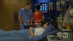 Karl Kennedy, Vanessa Villante, Lucas Fitzgerald in Neighbours Episode 6674