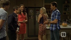 Mason Turner, Paul Robinson, Kate Ramsay, Lauren Turner, Matt Turner in Neighbours Episode 6674