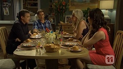 Paul Robinson, Matt Turner, Lauren Turner, Kate Ramsay in Neighbours Episode 6674