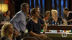 Karl Kennedy, Kyle Canning, Sheila Canning in Neighbours Episode 6674