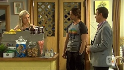 Lauren Turner, Brad Willis, Paul Robinson in Neighbours Episode 6675