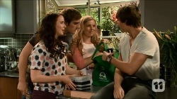 Kate Ramsay, Kyle Canning, Georgia Brooks, Mason Turner in Neighbours Episode 6676