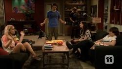 Georgia Brooks, Chris Pappas, Kyle Canning, Kate Ramsay, Mason Turner in Neighbours Episode 6676