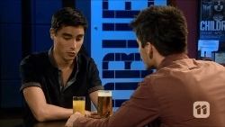 Hudson Walsh, Chris Pappas in Neighbours Episode 6676