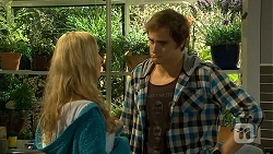 Georgia Brooks, Kyle Canning in Neighbours Episode 6678