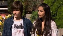 Bailey Turner, Rani Kapoor in Neighbours Episode 6678