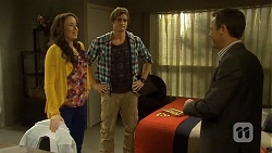 Kate Ramsay, Kyle Canning, Paul Robinson in Neighbours Episode 6679