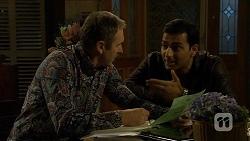 Karl Kennedy, Ajay Kapoor in Neighbours Episode 6679