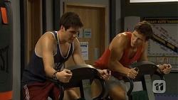 Chris Pappas, Josh Willis in Neighbours Episode 6680