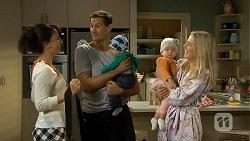 Vanessa Villante, Matt Turner, Patrick Villante, Nell Rebecchi, Lauren Turner in Neighbours Episode 6680