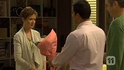 Susan Kennedy, Ajay Kapoor, Karl Kennedy in Neighbours Episode 6680