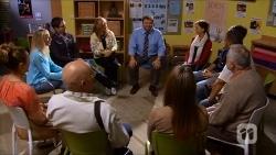Sonya Rebecchi, Dave (Fake Walter), Bob Kind in Neighbours Episode 6682