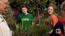 Dave (Fake Walter), Callum Rebecchi, Sonya Rebecchi in Neighbours Episode 6682