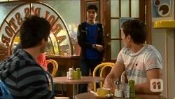 Chris Pappas, Hudson Walsh, Josh Willis in Neighbours Episode 6682
